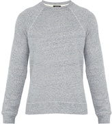 A.P.C. Marina crew-neck cotton-blend sweater