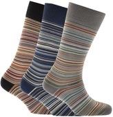 Paul Smith PS By Striped Socks Blue