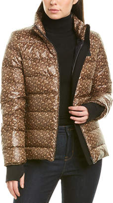 Burberry Monogram Print Puffer Jacket