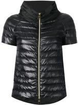 Herno shortsleeved puffer jacket