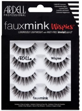 Ardell Faux Mink Lashes -Wispies 4-Pack