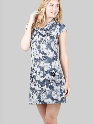 M&Co Izabel floral knitted tunic dress