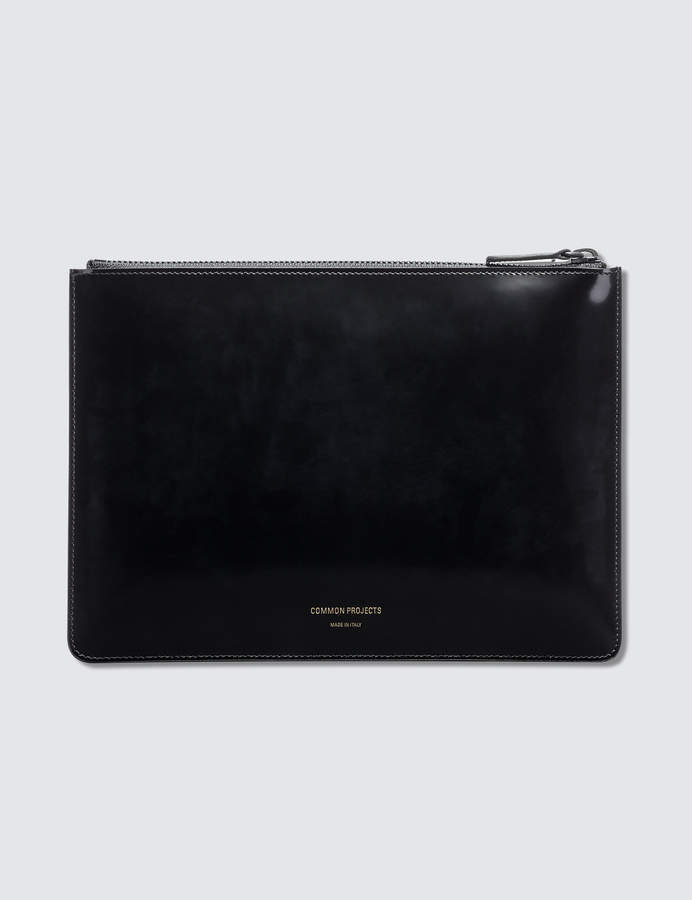 Common Projects Small Folio In Boxed Leather