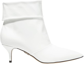 Paul Andrew Banner Patent-leather Ankle Boots