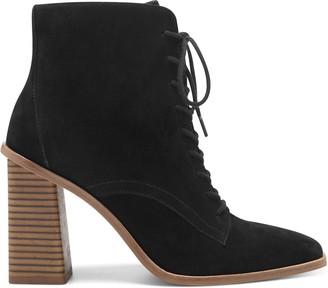 Vince Camuto Dreveri Square-Toe Lace-Up Boot