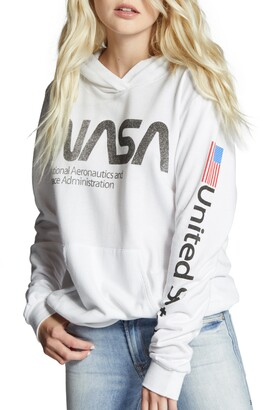 Recycled Karma NASA Graphic Hoodie
