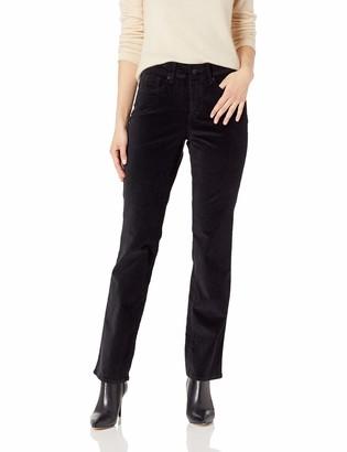 NYDJ Women's Petite Size Marilyn Straight Leg Velvet Jean