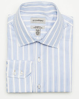 Le Château Cotton Mixed Media Tailored Fit Shirt