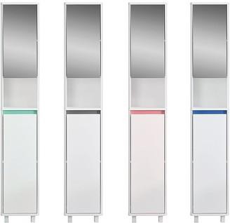 Lloyd Pascal Olinda Tallboy Bathroom Cabinet With Reversible 4 In 1 Colour Bar