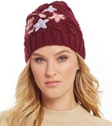Collection 18 Runaway Road Trip Cable Embroidered Beanie