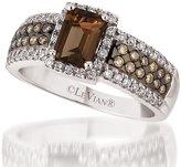 Le Vian 14ct Vanilla Gold diamond & quartz ring