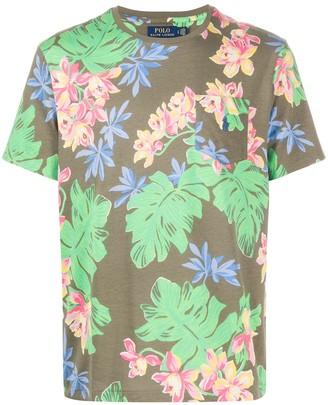 Polo Ralph Lauren floral print short-sleeve T-shirt