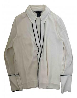 Thomas Wylde White Silk Top for Women