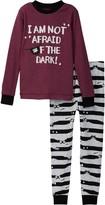 Petit Lem I am Not Afraid of the Dark Pajama Set (Toddler & Little Boys)