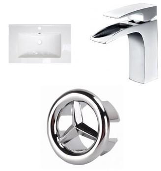 "American Imaginations Ceramic 24"" Single Bathroom Vanity Top"