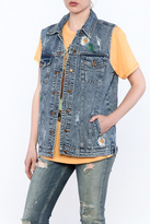 Honey Punch Denim Vest