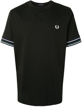 Fred Perry embroidered logo cotton T-shirt