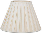 Bunny Williams Home Box-Pleated Lamp Shade - Off-White