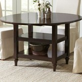 Birch Lane Burke Drop-Leaf Dining Table Heritage Color: Espresso