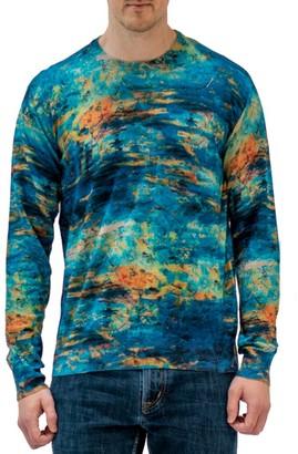Robert Graham Art Amour Crewneck Sweater