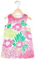 Lilly Pulitzer Girls' Floral Shift Dress
