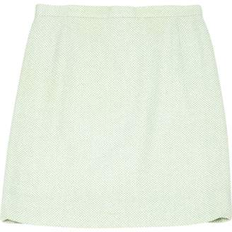 Chanel Green Cotton Skirts