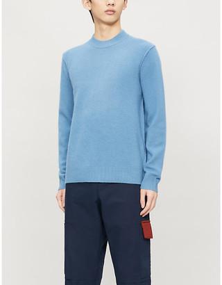 Samsoe & Samsoe Crewneck wool and cashmere-blend jumper