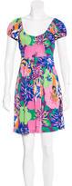 Tibi Floral Mini Dress