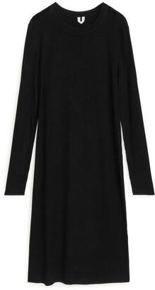 Arket Rib Knit Dress