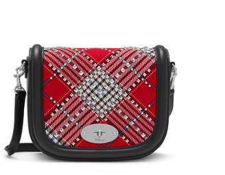 Mulberry Small Darley Satchel Scarlet Large Tartan Check