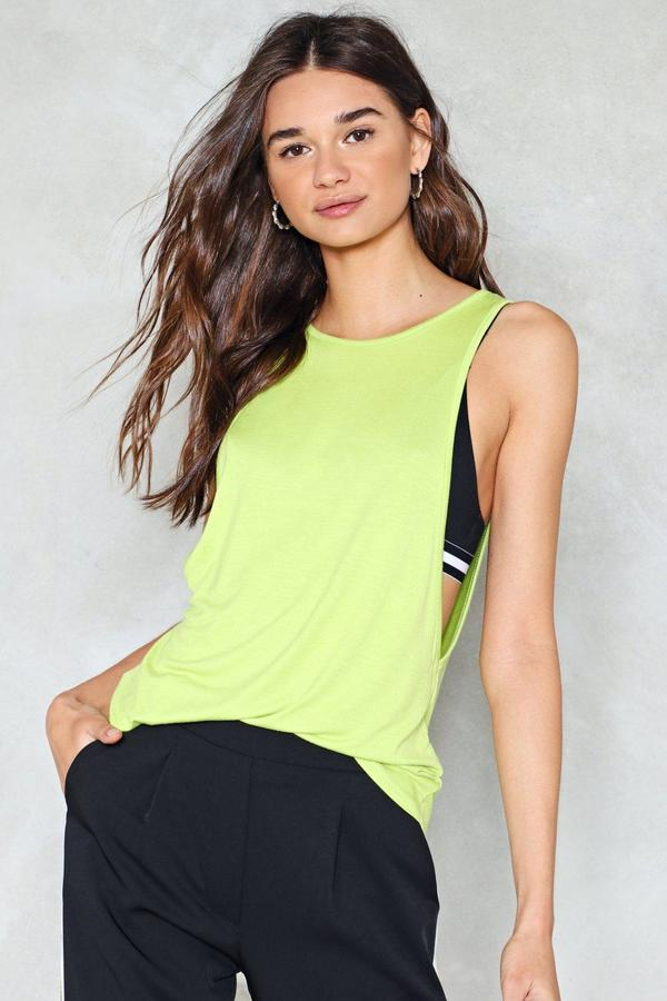 Nasty Gal nastygal Cool Under Heat Relaxed Top