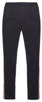 Gucci Web-striped zip-cuff track pants