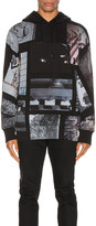 Alyx All Over Print Hoodie in Black | FWRD
