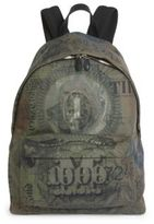 Givenchy Abstract Dollar Printed Backpack