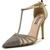 Sarah Jessica Parker Carrie Pointed Toe Canvas Heels.