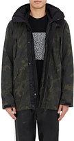 Rag & Bone Men's Ezra Camouflage-Print Tech-Fabric Jacket-DARK GREEN
