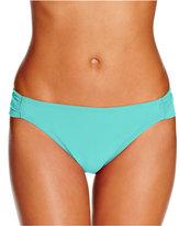 Hula Honey Malibu Side-Tab Hipster Bikini Bottoms