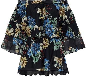 N. Nicholas Multicolour Cotton Jumpsuit for Women