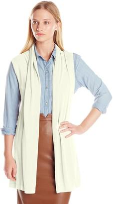 Colourworks Colour Works Women's Sleeveless Open Vest Sweater