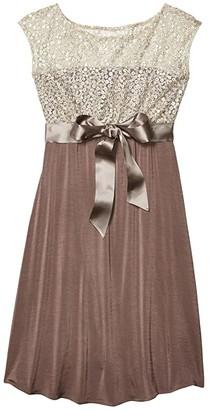Tiffany Rose Mia Maternity Dress (Dusky Truffle) Women's Dress