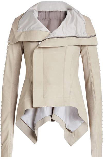 Rick Owens Naska Leather Biker Jacket