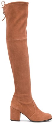 Stuart Weitzman Capuccini over the knee boots