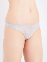 Triumph Beauty-full Darling lace and mesh thong