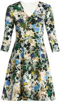 Erdem Domitilla Mariko Meadow-print Dress - Womens - White Print