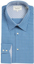 Ted Baker Plaid Cotton Dress Shirt
