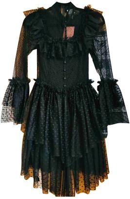 Sandra Mansour Black Lace Dresses