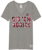 Victoria's Secret Victorias Secret Texas A&M University Perfect V-Neck Tee