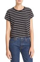 RE/DONE Women's 'Originals' Stripe Boxy Cotton Tee