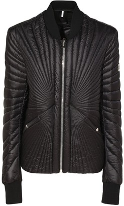 Moncler + Rick Owens Stitched Nylon Down Jacket