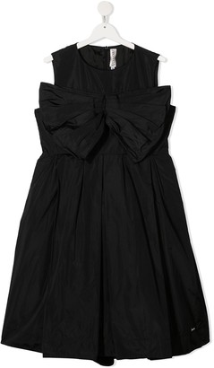 Simonetta Bow Front Party Dress